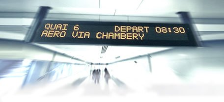Digital Signage Text to Speech Mass Transit