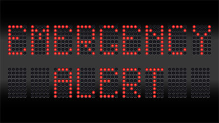 Emergency Alert LED